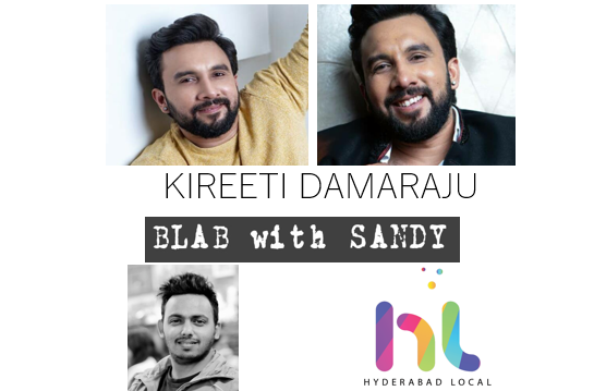 Blab With Sandy: Actor Kireeti Damaraju