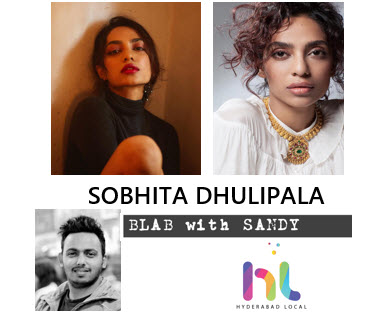 Blab With Sandy: Sobhita Dhulipala