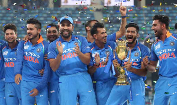 India Wins The Asia Cup