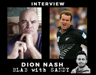 Blab With Sandy: Dion Nash