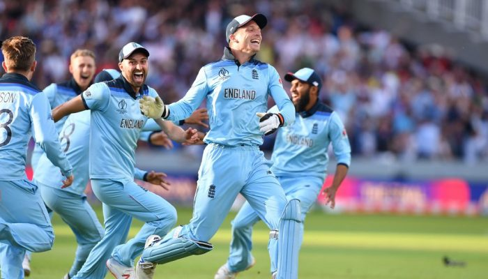 England Crowned Champions