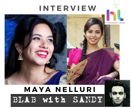 Blab With Sandy: Maya Nelluri