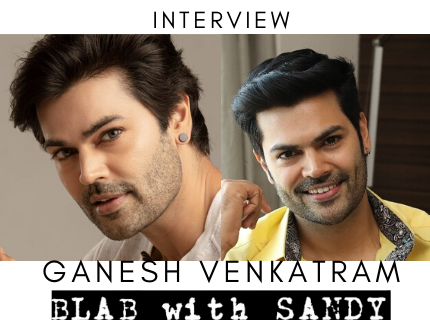 Blab With Sandy: Ganesh Venkatram