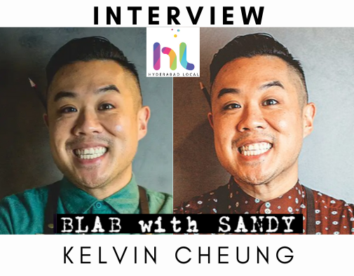 Blab With Sandy: Kelvin Cheung