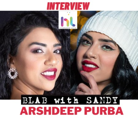 Blab With Sandy: Arshdeep Purba