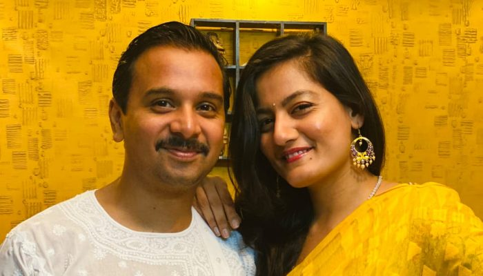 Namit Das Rings In Virtual Celebrations With His Shruti Vyas On Valentine's Day