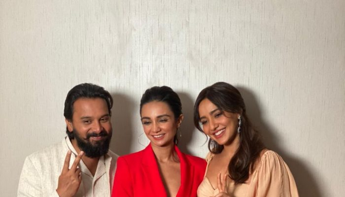 Namit Das & Neha Sharma Arrive With Fun Banter On Ira Dubey's A Table For Two